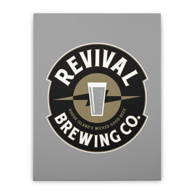 Revival Pint Home Stretched Canvas by Revival Brewing
