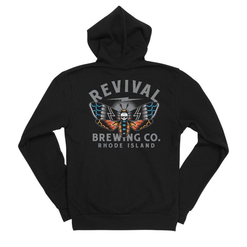 Revival Neverbetter Men's Sponge Fleece Zip-Up Hoody by Revival Brewing