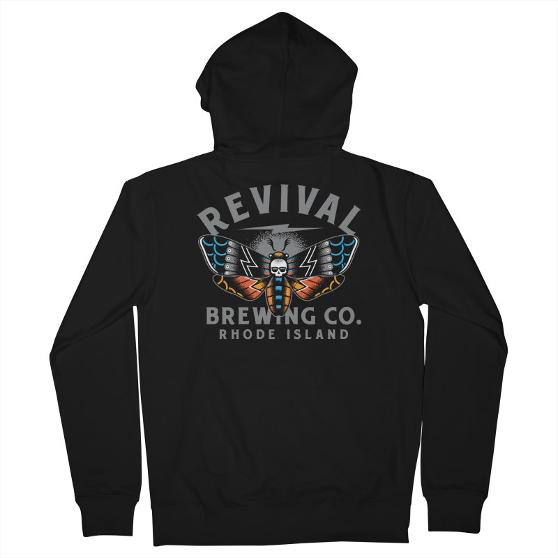 Revival Neverbetter Men's French Terry Zip-Up Hoody by Revival Brewing