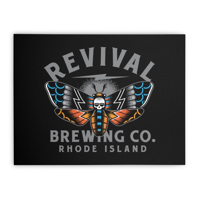 Revival Neverbetter Home Stretched Canvas by Revival Brewing