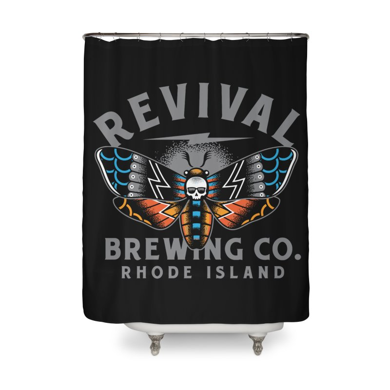 Revival Neverbetter Home Shower Curtain by Revival Brewing