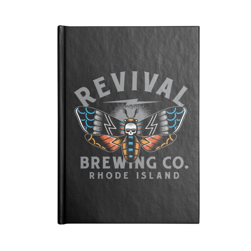 Revival Neverbetter Accessories Lined Journal Notebook by Revival Brewing