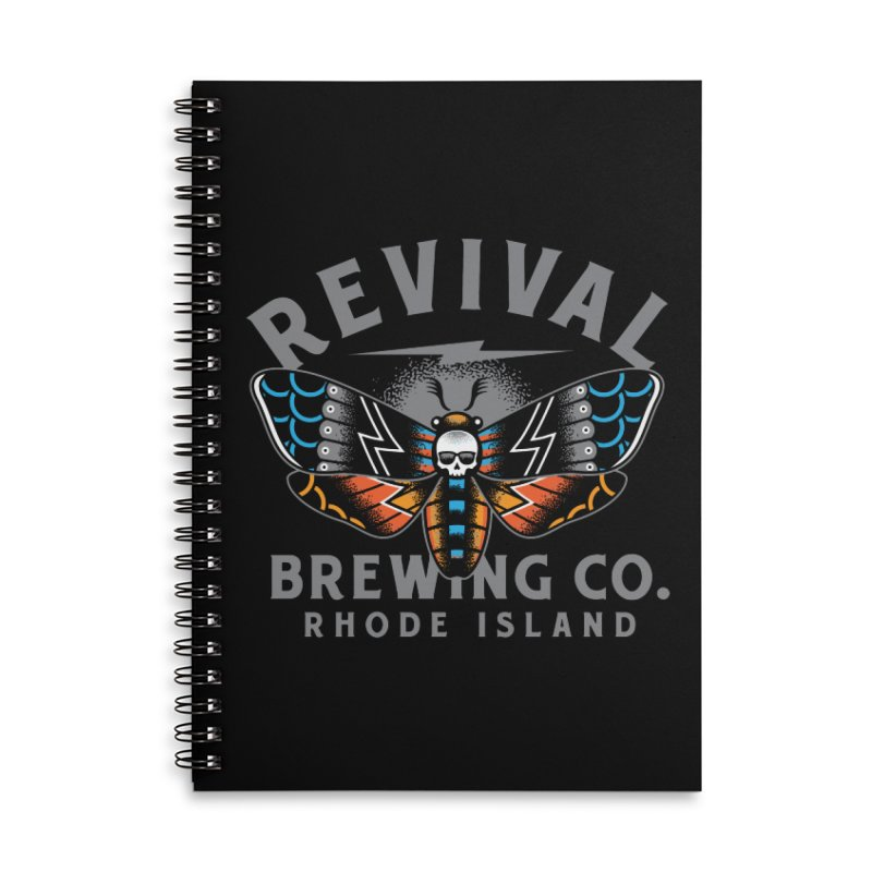 Revival Neverbetter Accessories Lined Spiral Notebook by Revival Brewing