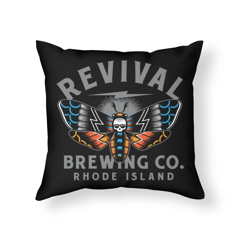 Revival Neverbetter Home Throw Pillow by Revival Brewing