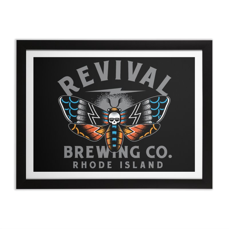 Revival Neverbetter Home Framed Fine Art Print by Revival Brewing