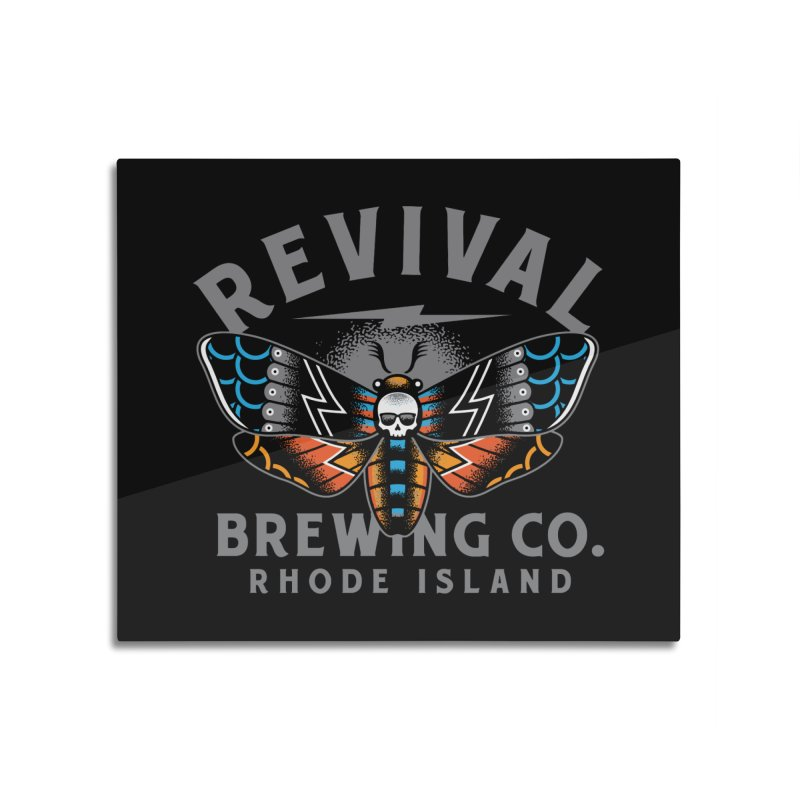 Revival Neverbetter Home Mounted Aluminum Print by Revival Brewing