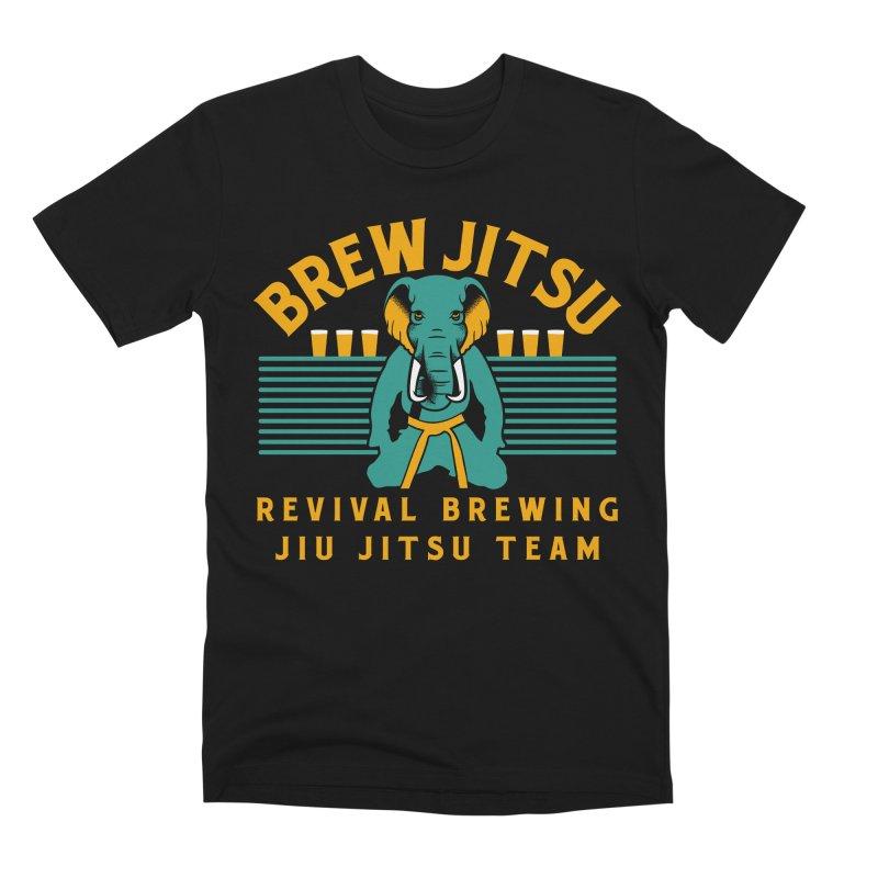 Revival Jiu Jitsu Men's Premium T-Shirt by Revival Brewing