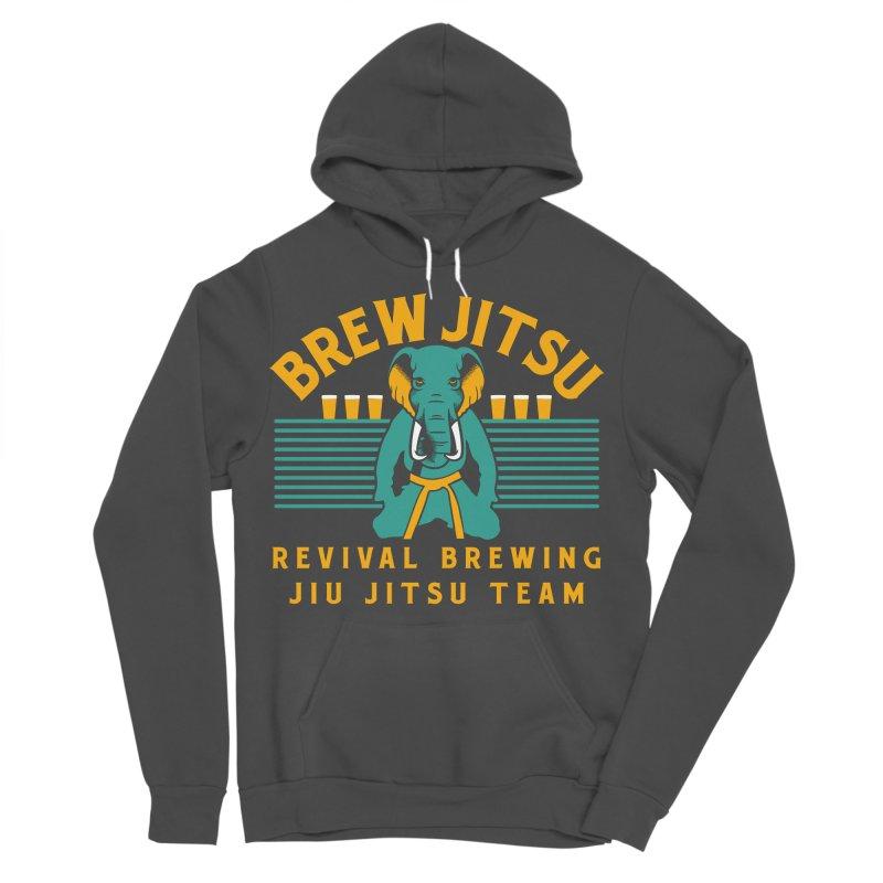 Revival Jiu Jitsu Women's Sponge Fleece Pullover Hoody by Revival Brewing