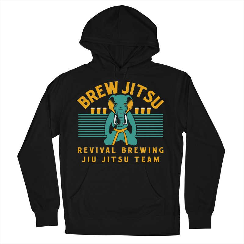 Revival Jiu Jitsu Men's French Terry Pullover Hoody by Revival Brewing
