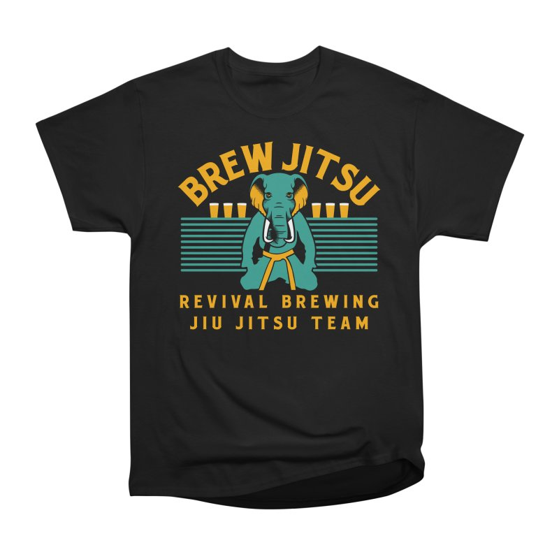 Revival Jiu Jitsu Women's Heavyweight Unisex T-Shirt by Revival Brewing