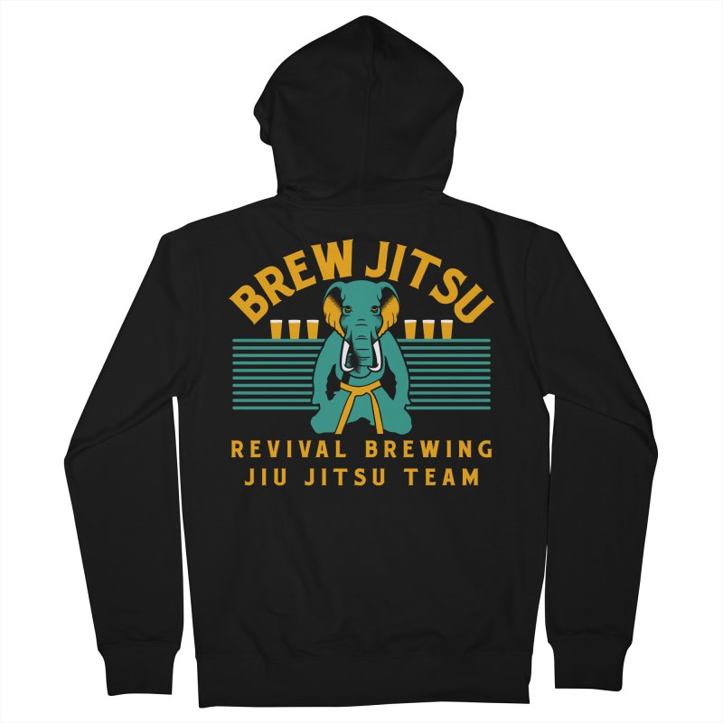 Revival Jiu Jitsu Men's French Terry Zip-Up Hoody by Revival Brewing