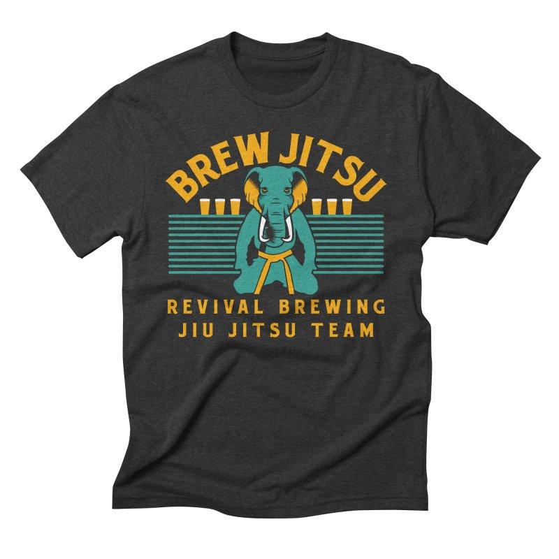 Revival Jiu Jitsu Men's Triblend T-Shirt by Revival Brewing