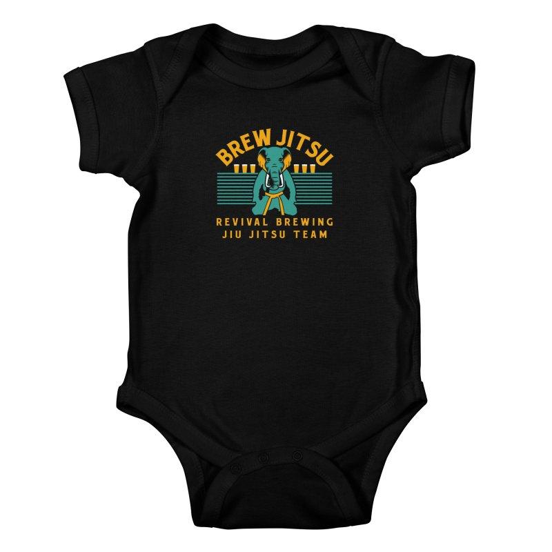 Revival Jiu Jitsu Kids Baby Bodysuit by Revival Brewing