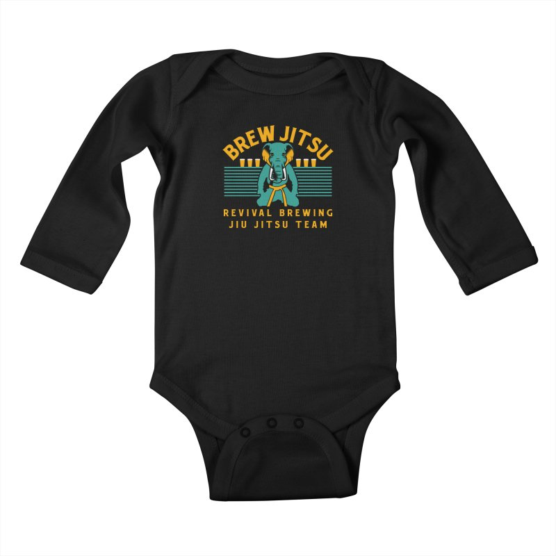 Revival Jiu Jitsu Kids Baby Longsleeve Bodysuit by Revival Brewing