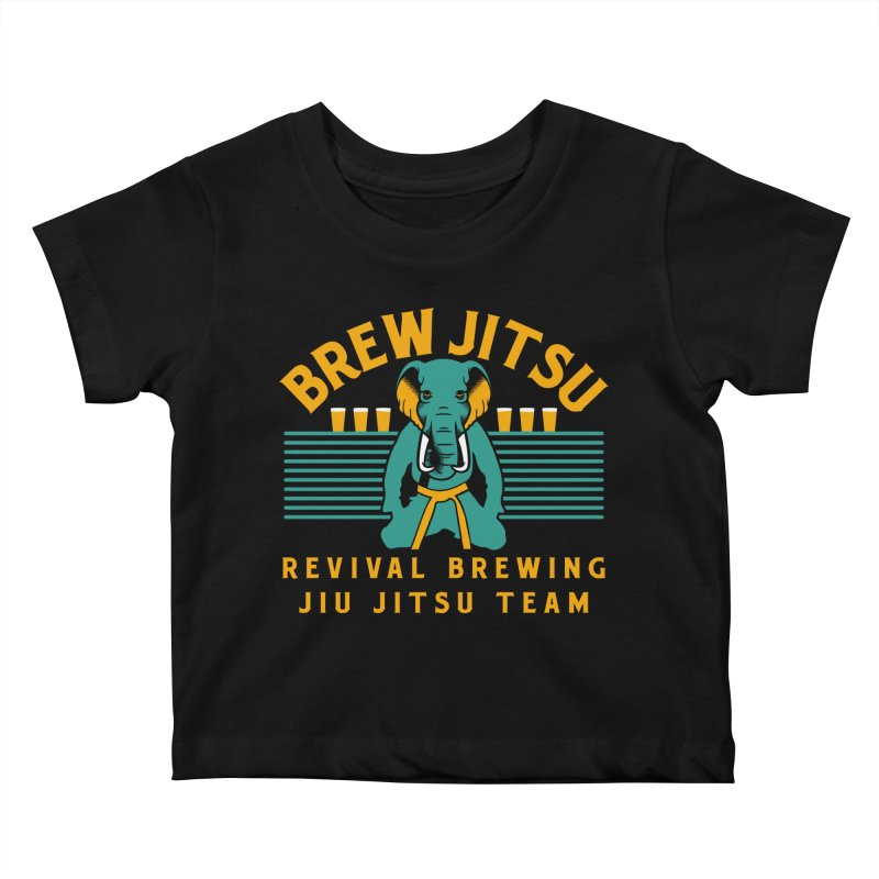 Revival Jiu Jitsu Kids Baby T-Shirt by Revival Brewing