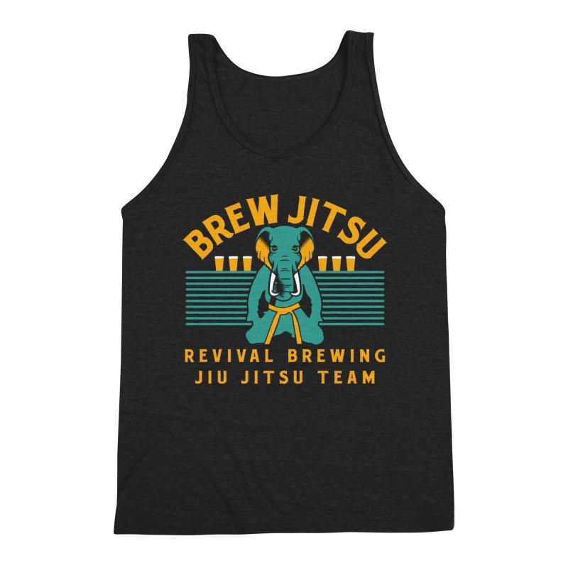 Revival Jiu Jitsu Men's Triblend Tank by Revival Brewing