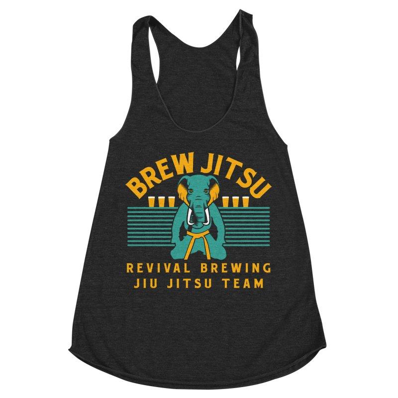 Revival Jiu Jitsu Women's Racerback Triblend Tank by Revival Brewing