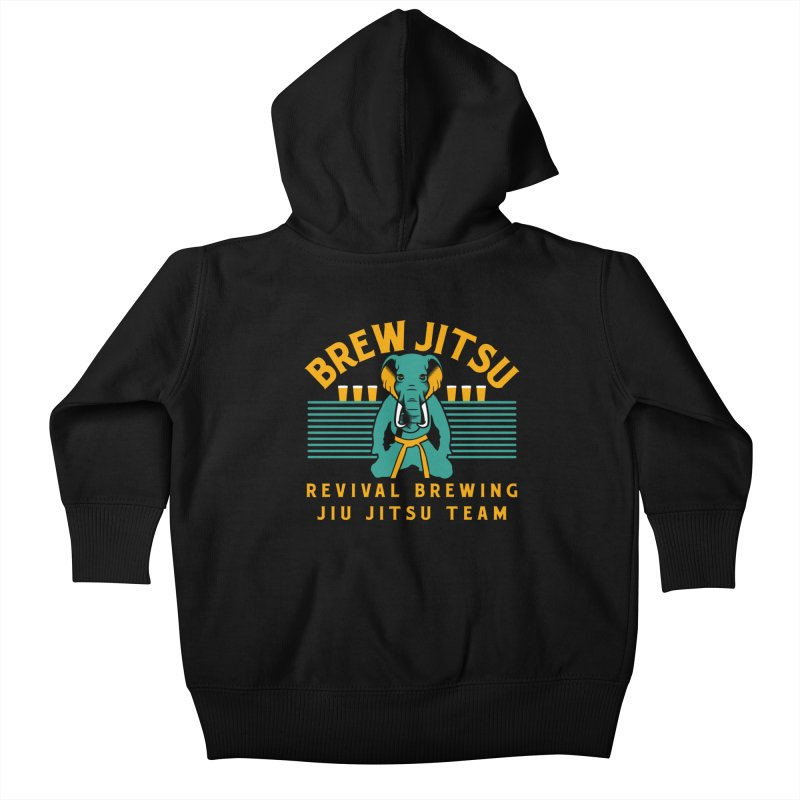 Revival Jiu Jitsu Kids Baby Zip-Up Hoody by Revival Brewing