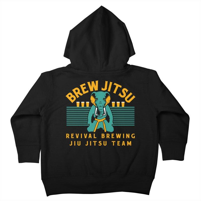Revival Jiu Jitsu Kids Toddler Zip-Up Hoody by Revival Brewing