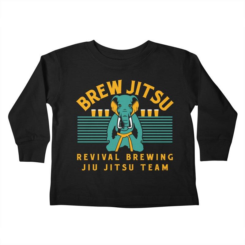 Revival Jiu Jitsu Kids Toddler Longsleeve T-Shirt by Revival Brewing