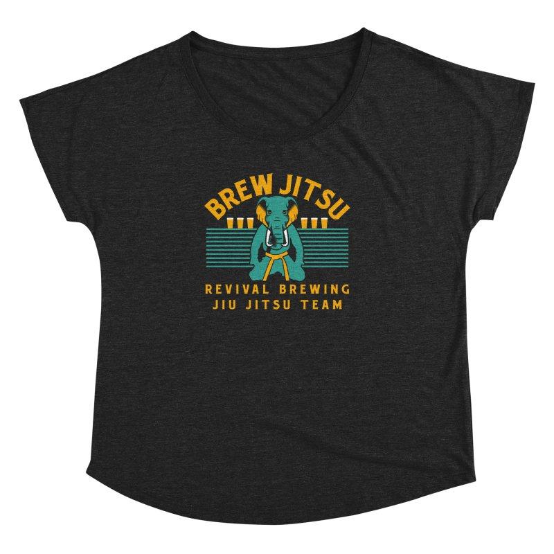 Revival Jiu Jitsu Women's Dolman Scoop Neck by Revival Brewing