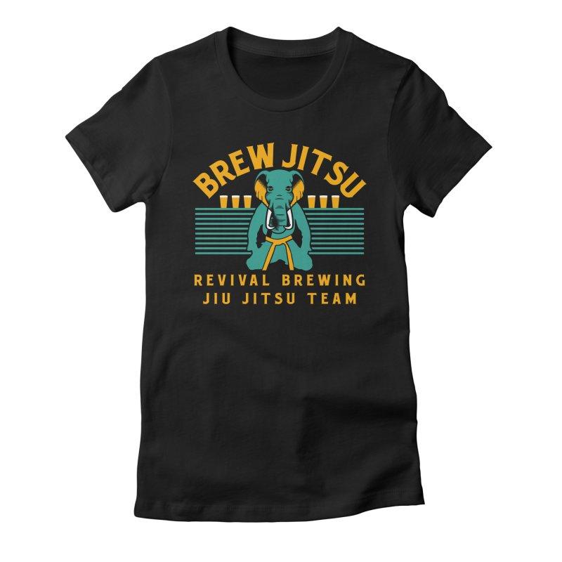 Revival Jiu Jitsu Women's Fitted T-Shirt by Revival Brewing