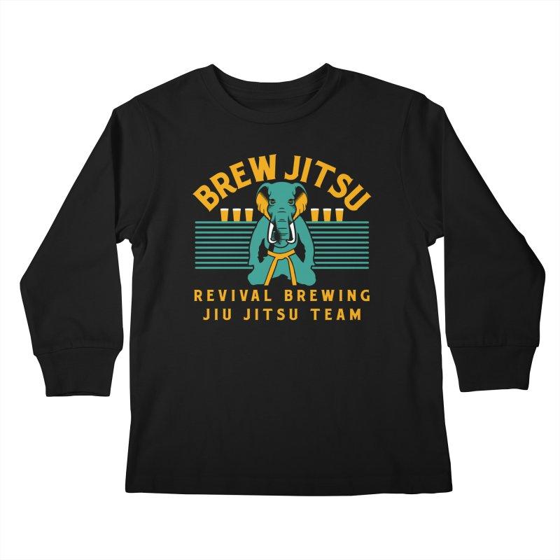 Revival Jiu Jitsu Kids Longsleeve T-Shirt by Revival Brewing