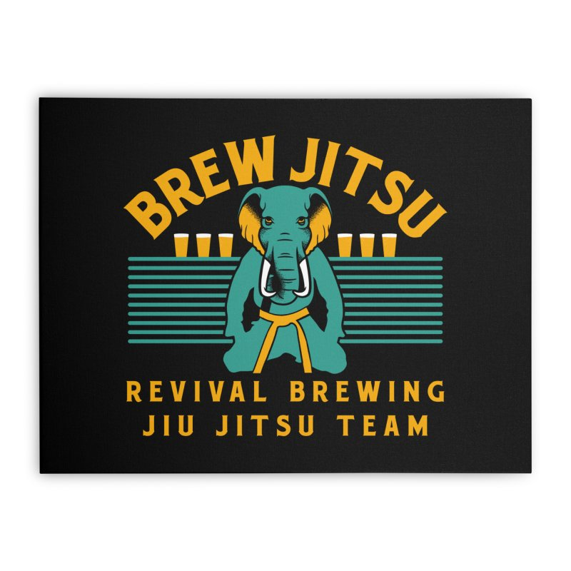 Revival Jiu Jitsu Home Stretched Canvas by Revival Brewing