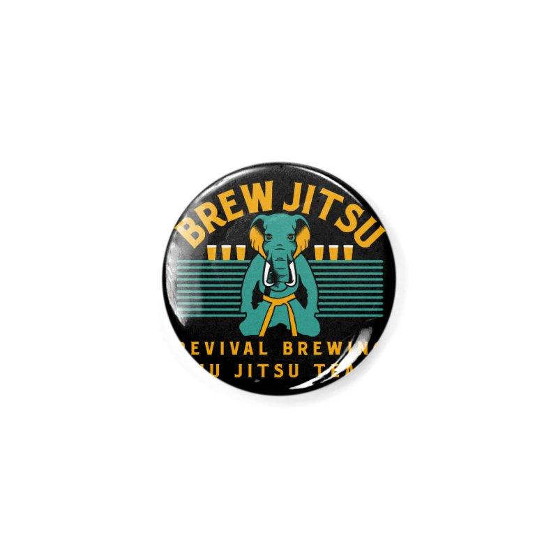 Revival Jiu Jitsu Accessories Button by Revival Brewing