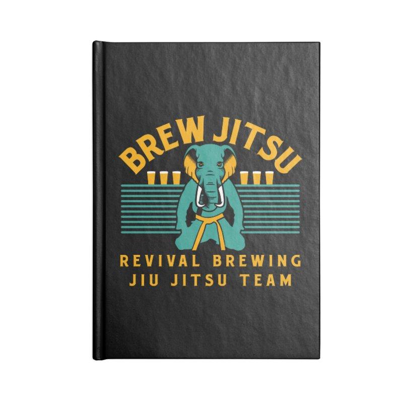 Revival Jiu Jitsu Accessories Lined Journal Notebook by Revival Brewing