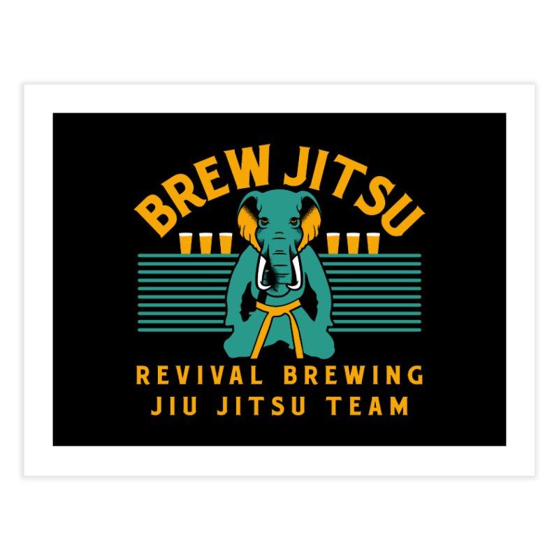 Revival Jiu Jitsu Home Fine Art Print by Revival Brewing