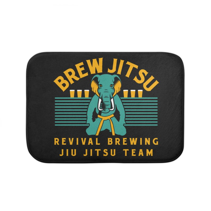 Revival Jiu Jitsu Home Bath Mat by Revival Brewing