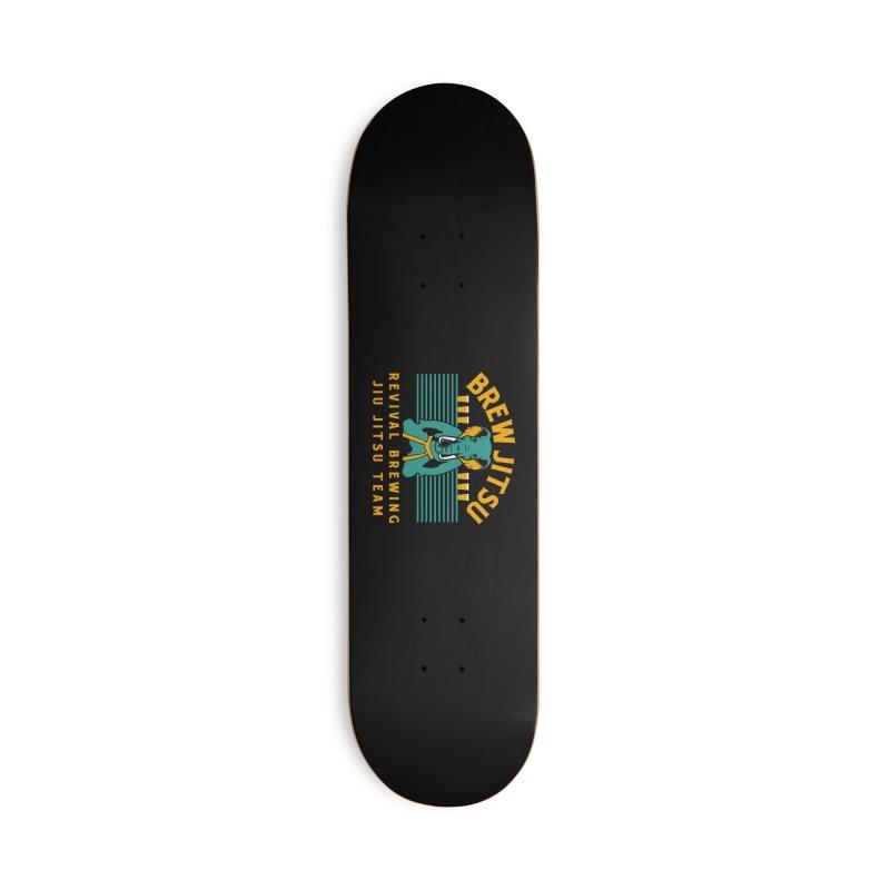 Revival Jiu Jitsu Accessories Deck Only Skateboard by Revival Brewing