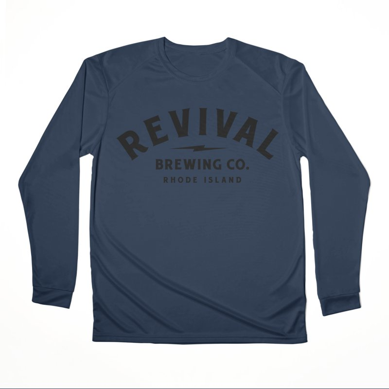 Revival Classic Logo Women's Performance Unisex Longsleeve T-Shirt by Revival Brewing