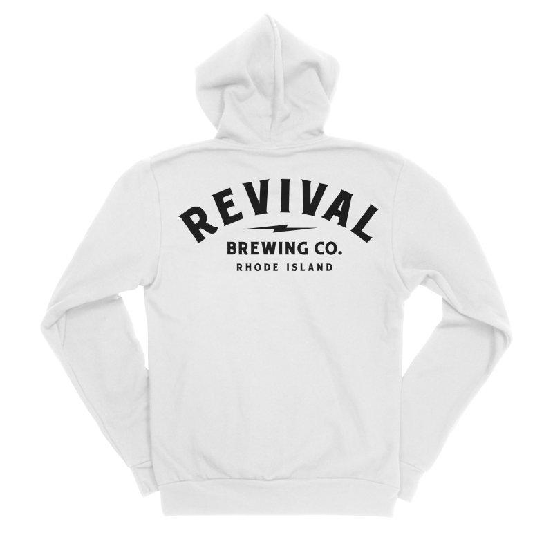 Revival Classic Logo Women's Sponge Fleece Zip-Up Hoody by Revival Brewing