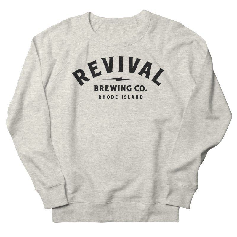 Revival Classic Logo Men's French Terry Sweatshirt by Revival Brewing
