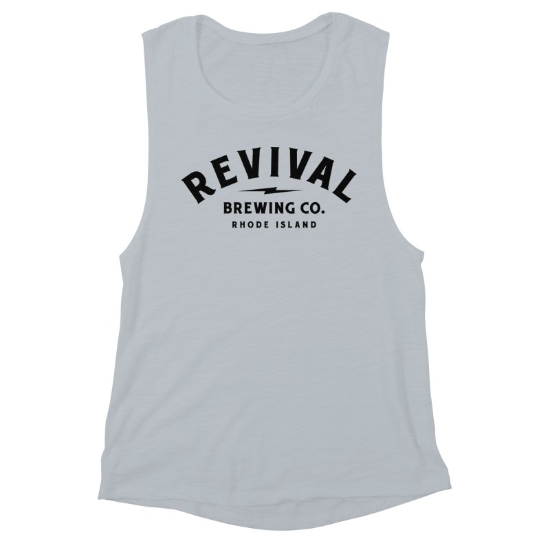 Revival Classic Logo Women's Muscle Tank by Revival Brewing