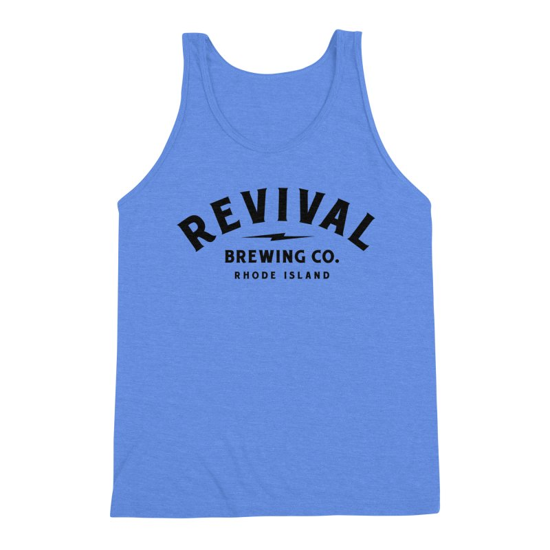 Revival Classic Logo Men's Triblend Tank by Revival Brewing