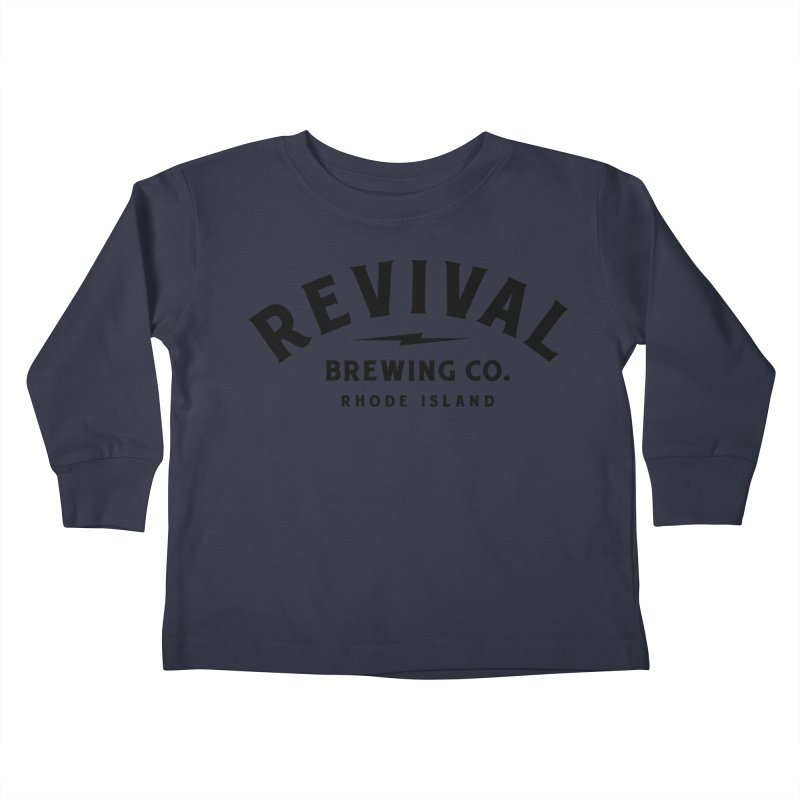 Revival Classic Logo Kids Toddler Longsleeve T-Shirt by Revival Brewing
