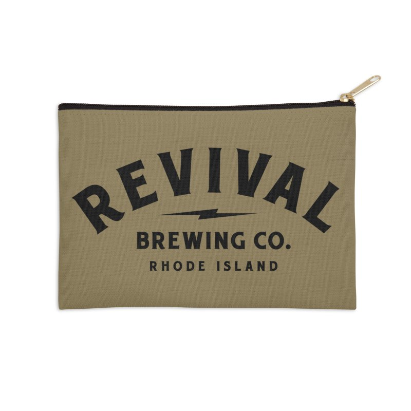 Revival Classic Logo Accessories Zip Pouch by Revival Brewing