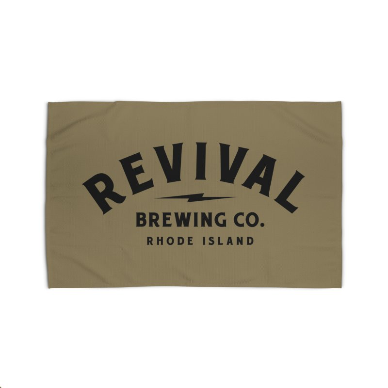 Revival Classic Logo Home Rug by Revival Brewing