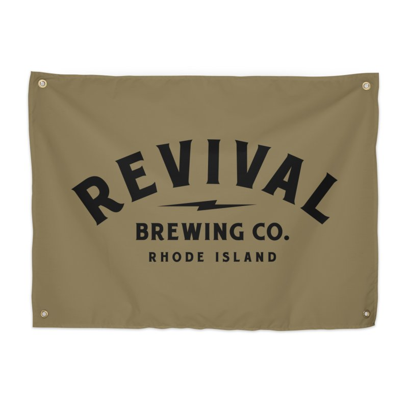 Revival Classic Logo Home Tapestry by Revival Brewing