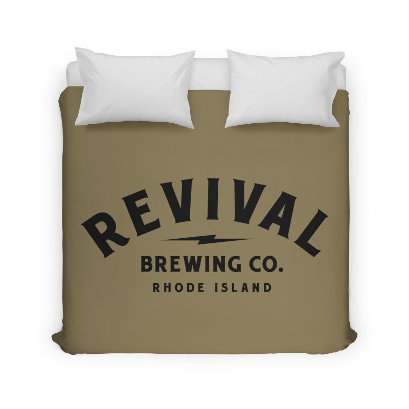 Revival Classic Logo Home Duvet by Revival Brewing