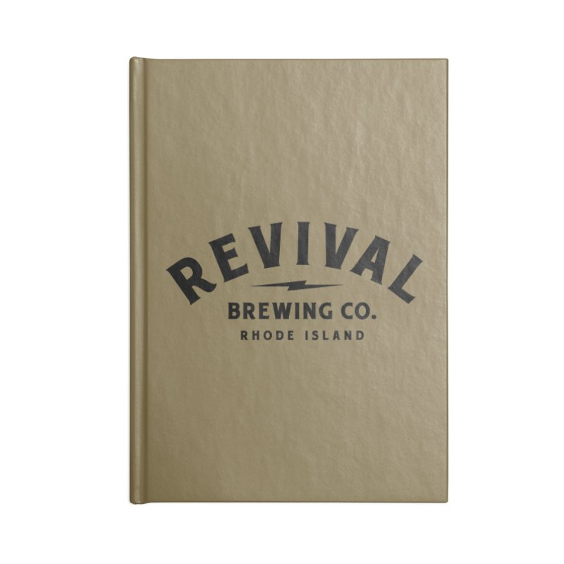 Revival Classic Logo Accessories Lined Journal Notebook by Revival Brewing