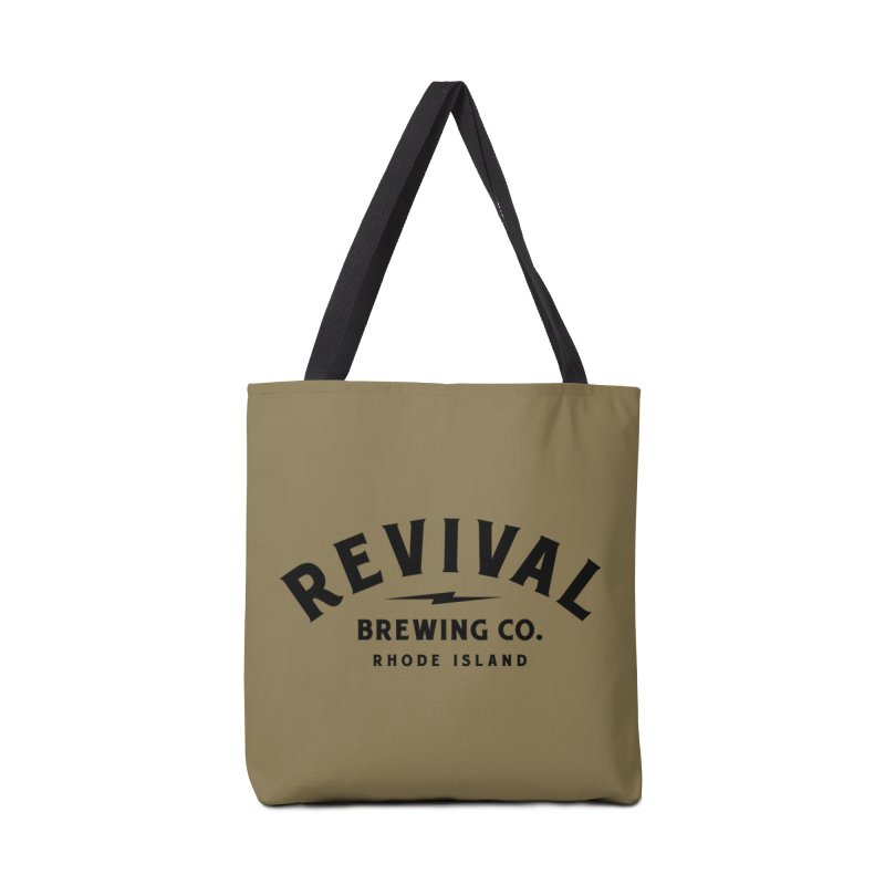Revival Classic Logo Accessories Tote Bag Bag by Revival Brewing