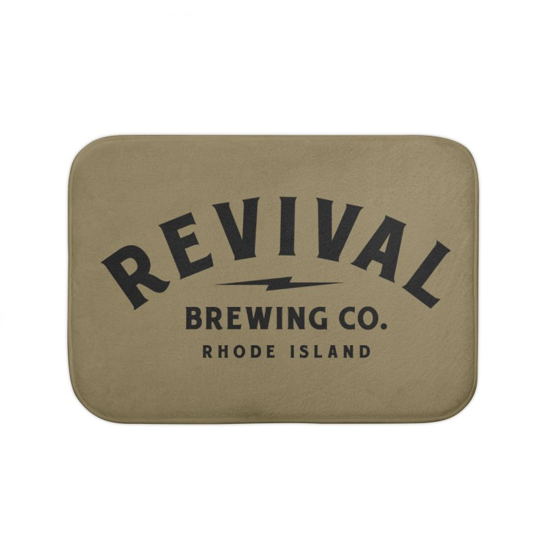 Revival Classic Logo Home Bath Mat by Revival Brewing