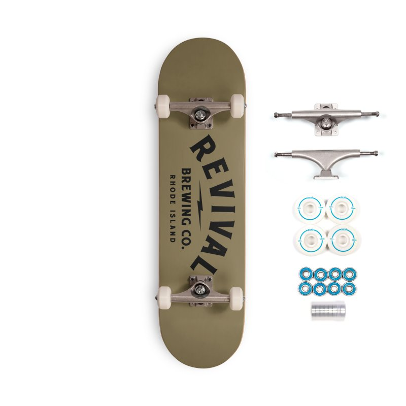 Revival Classic Logo Accessories Complete - Basic Skateboard by Revival Brewing