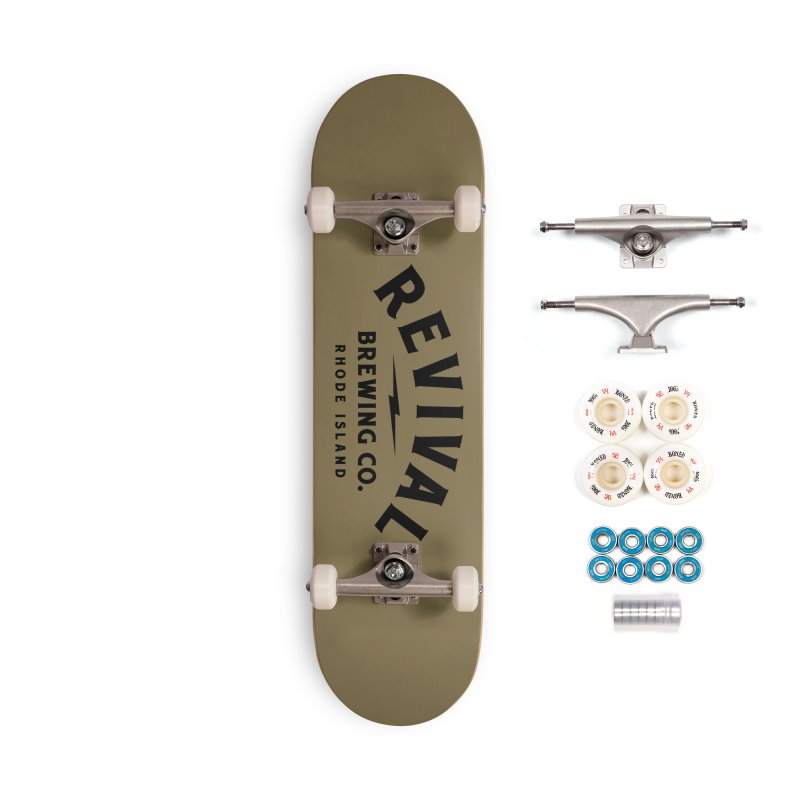 Revival Classic Logo Accessories Complete - Premium Skateboard by Revival Brewing