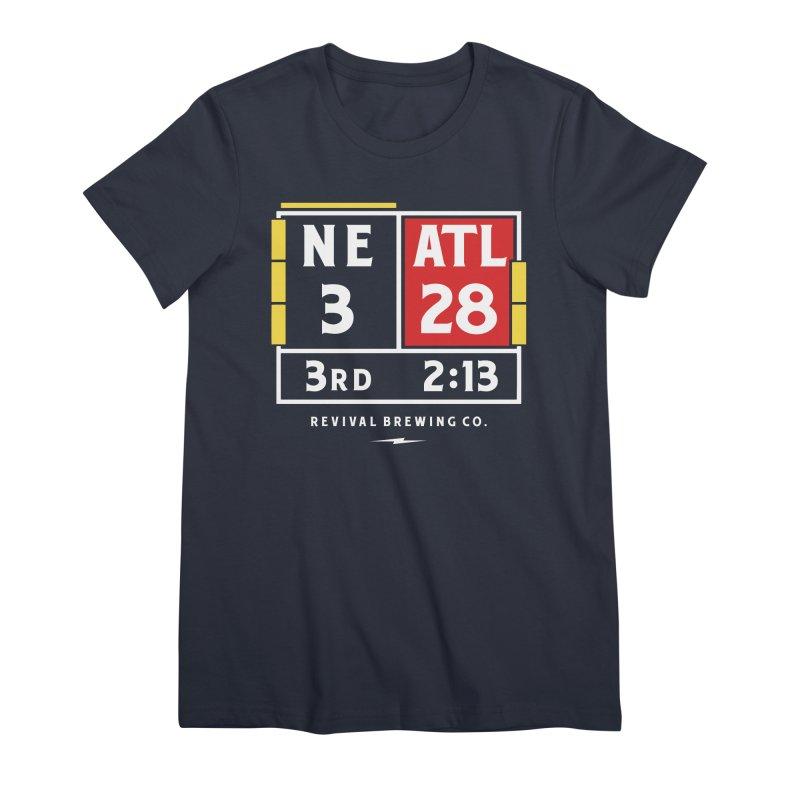 Revival Scoreboard Women's Premium T-Shirt by Revival Brewing