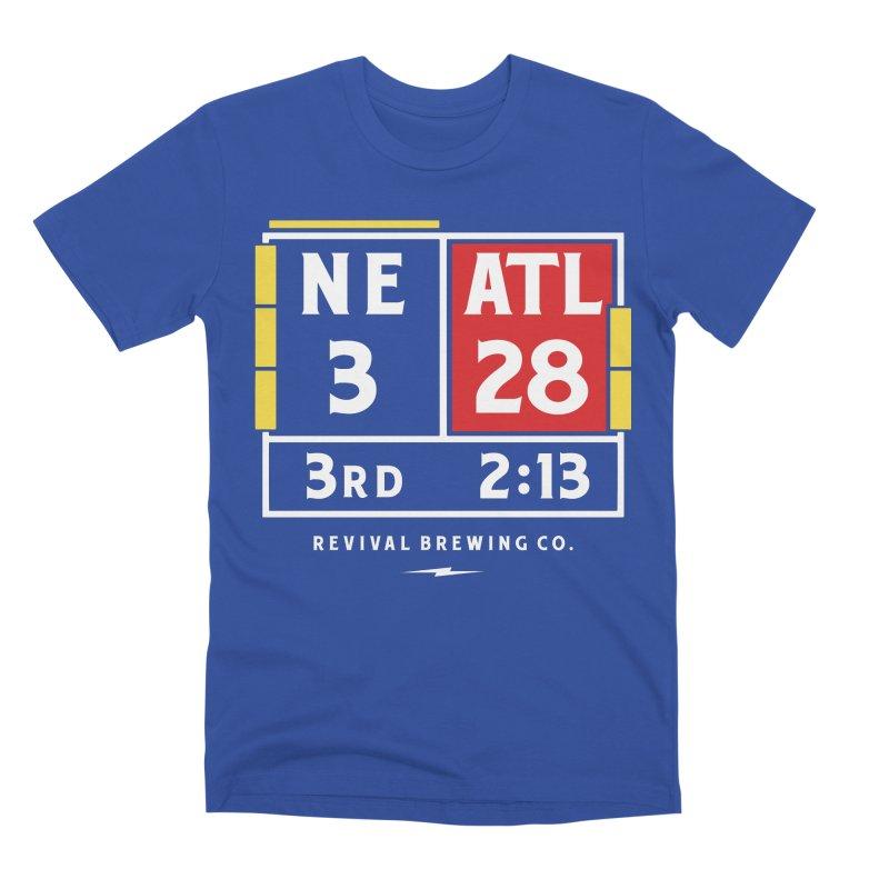 Revival Scoreboard Men's Premium T-Shirt by Revival Brewing